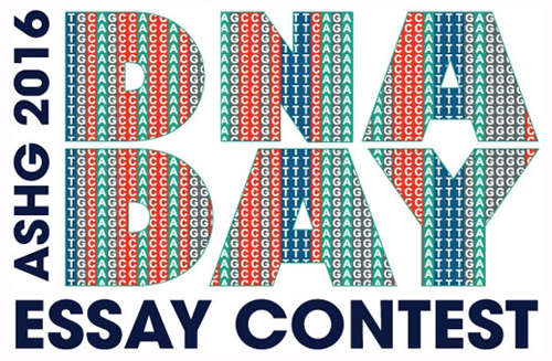 annual dna day essay contest Check out this amazing opportunity the american society of human genetics (ashg) invites you to participate in the 11th annual dna day essay contest.