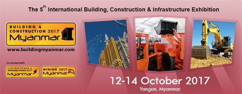 Building construction myanmar 2017 trade show event for International builders show 2017 exhibitors