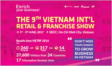 VIETNAM INT'l RETAIL+FRANCHISE SHOW 2017 | TFC Sale Partner
