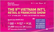 VIETNAM INT'l RETAIL+FRANCHISE SHOW 2017 | TFC Sale Partner