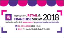 Vietnam Int'l Retail + Franchise Show 2018 (VIETRF)