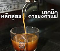 หลักสูตร เทคนิคการชงกาแฟ (Basic Barista Training)